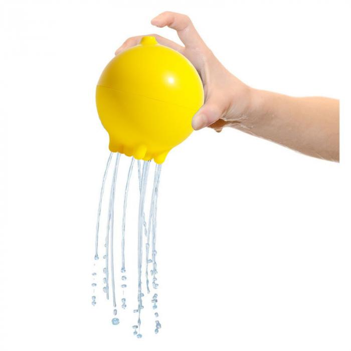 Plui Rainball Mingiuta senzoriala cu apa - galben 1