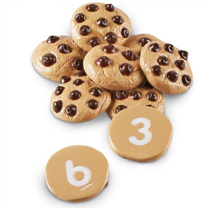 Prajiturele cu numere - Counting Cookies - Set de numarat 0