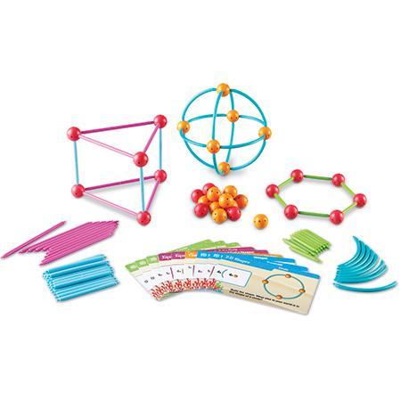 Construieste geometric - Set de construit forme geometrice 0