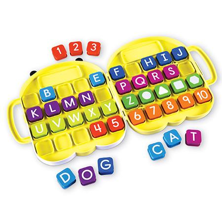 Alphabee - Set invatare litere si cifrele din mers 0