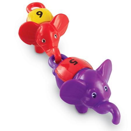 Elefanti pereche - set indemanare cu cifre 0