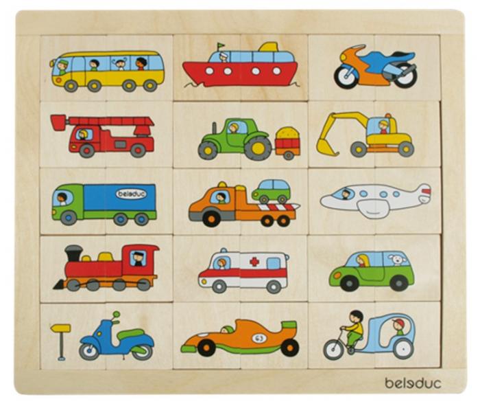 Puzzle Amesteca si potriveste Transport 0