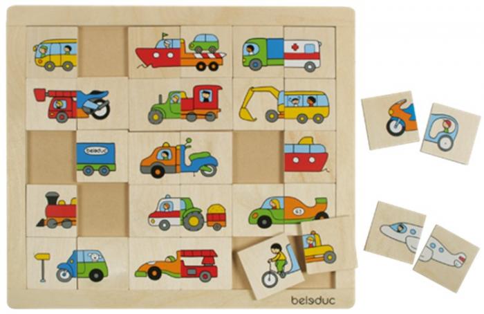 Puzzle Amesteca si potriveste Transport 2