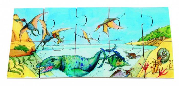 Puzzle de podea Dino 4