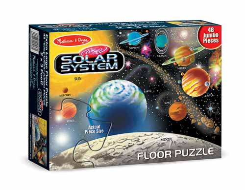 Puzzle de podea Sistemul Solar 0