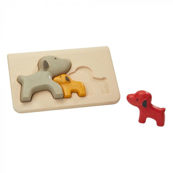 Puzzle din lemn cu catelusi [0]