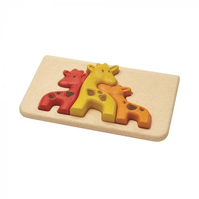 Puzzle din lemn cu girafe [1]