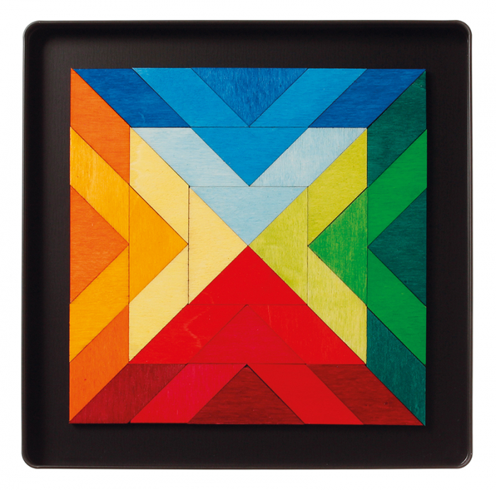 Puzzle magnetic Square Indian 0