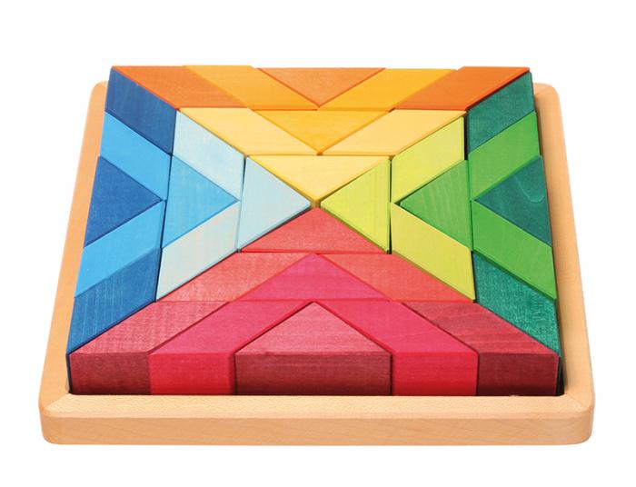 Puzzle Square Indian 0