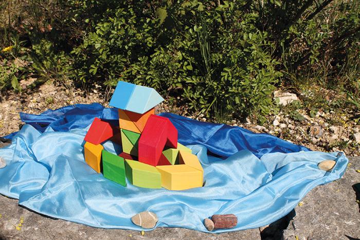 Puzzle Square Indian 3