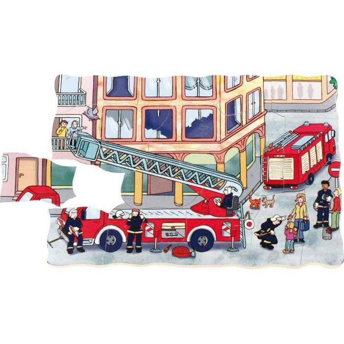 Puzzle stratificat Brigada de Pompieri 4