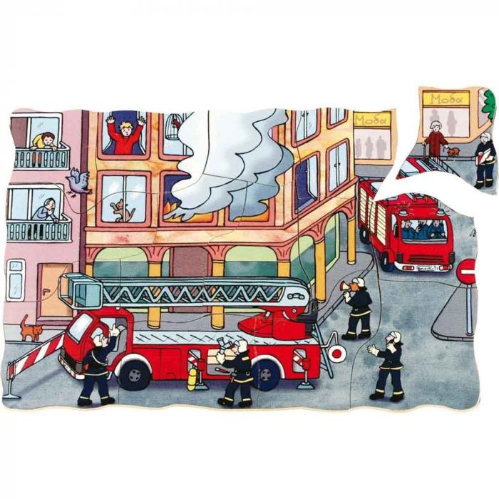 Puzzle stratificat Brigada de Pompieri 1