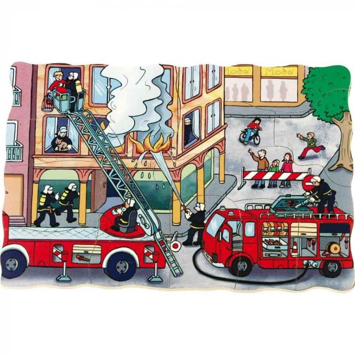 Puzzle stratificat Brigada de Pompieri 2
