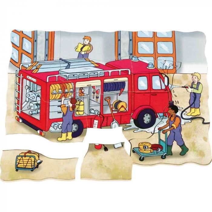 Puzzle stratificat Brigada de Pompieri 3