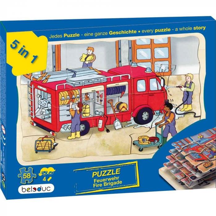 Puzzle stratificat Brigada de Pompieri 0