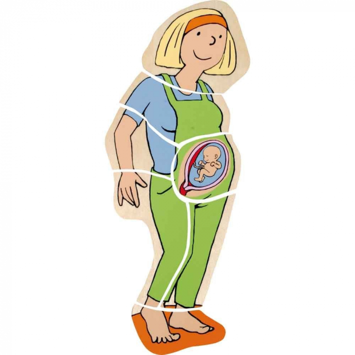 Puzzle stratificat Mama si Copilul 4