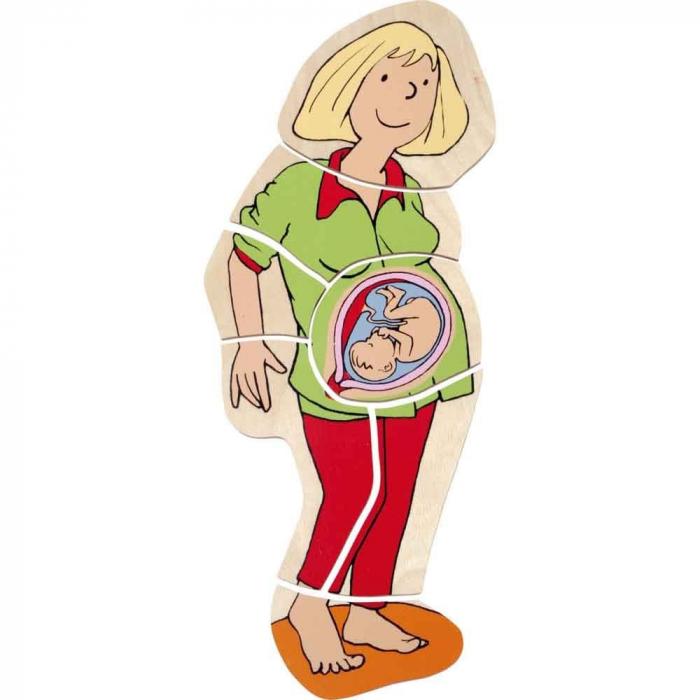 Puzzle stratificat Mama si Copilul 5