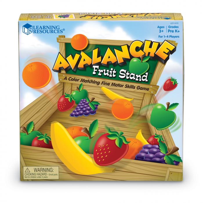 Avalansa de fructe - set educativ 1