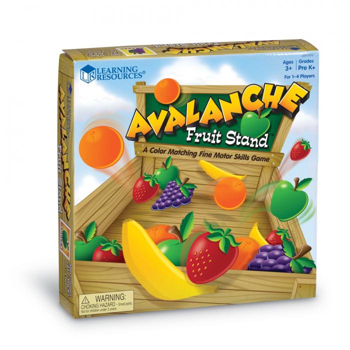 Avalansa de fructe - set educativ 2