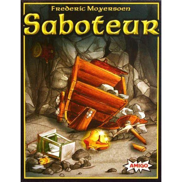 Saboteur - set carti de joc - dezvoltare logica si gandire 0