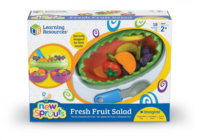 Salata proaspata - set educativ sortare