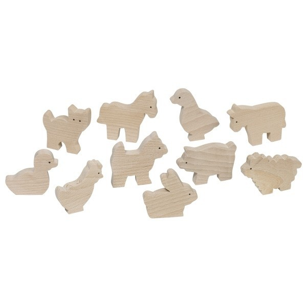 Set 10 animale de la ferma [0]
