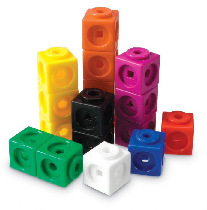 Set 100 cuburi - Abilitati matematice 1