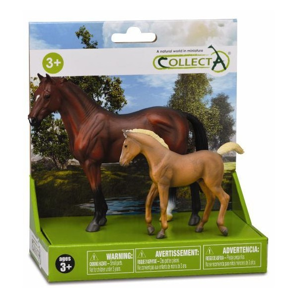 Set 2 figurine viata cailor Collecta [0]