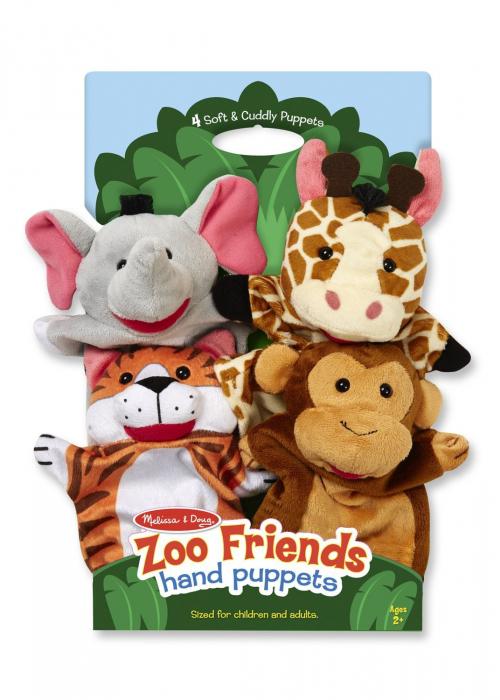 Set 4 papusi de mana Zoo 4