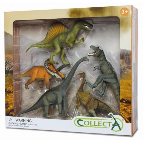 Set 5 figurine preistorice Collecta [0]