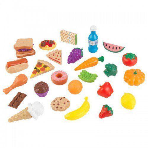 Set alimente de jucarie din lemn 30 piese [0]