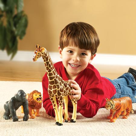 Set animale jungla - figurine mari pentru bebelusi 2