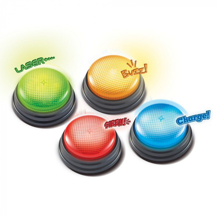 Set butoane Buzzer - set interactiv 3