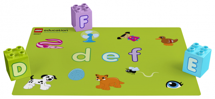 Set constructie cu litere  - Lego Education 3