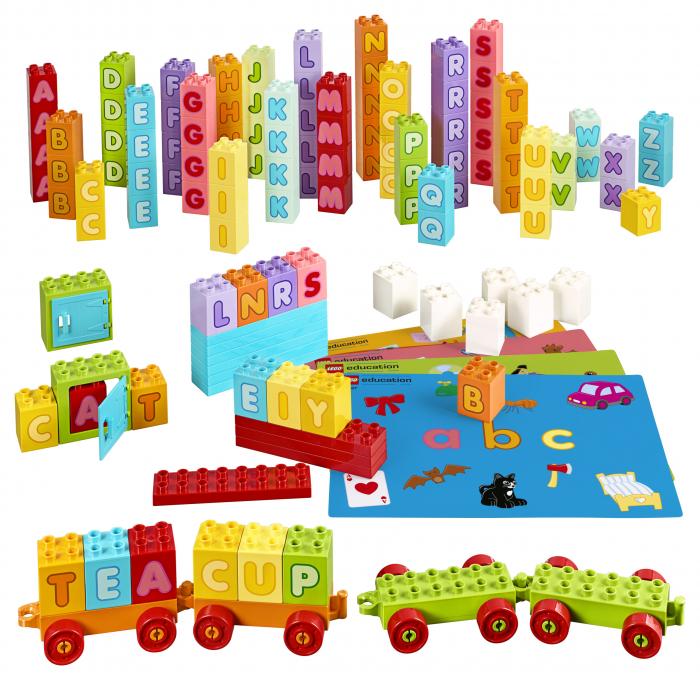 Set constructie cu litere  - Lego Education 0