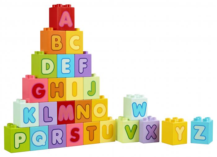 Set constructie cu litere  - Lego Education 4
