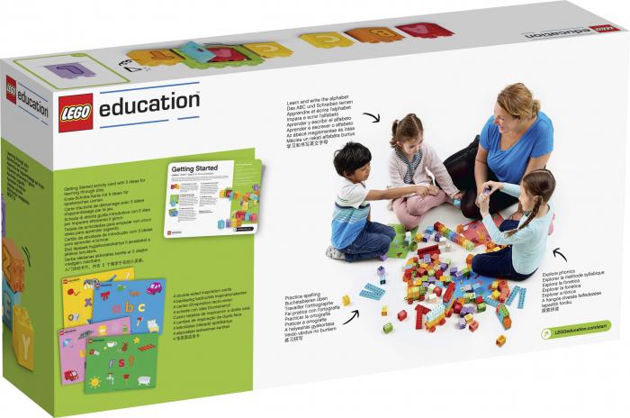 Set constructie cu litere  - Lego Education 2