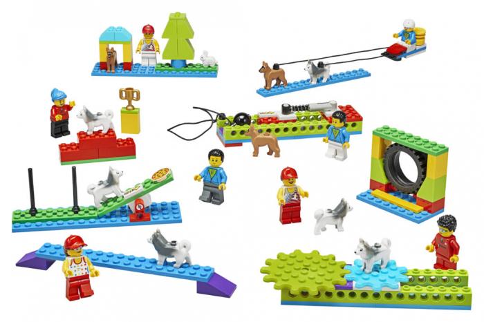 Set constructie Lego - BricQ Motion Essential Set - Lego Education 1