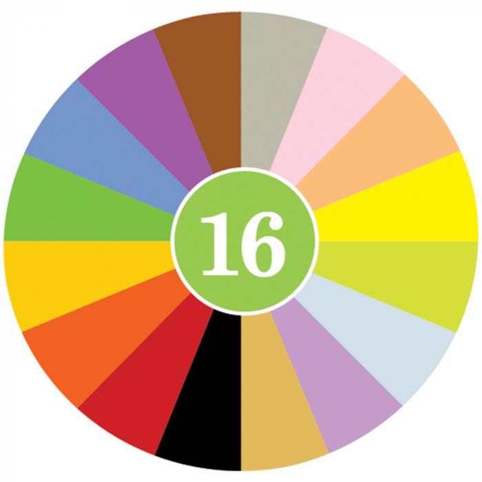 Set Crayon Rocks 64 buc/16 culori 2