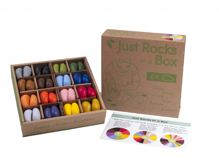 Set Crayon Rocks 64 buc/16 culori 1