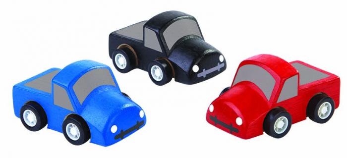 Set cu 3 mini-camioane 0
