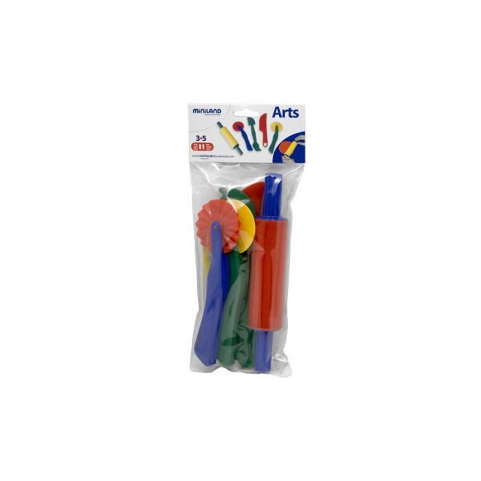 Set de accesorii pentru modelaj cu plastelina Miniland 1
