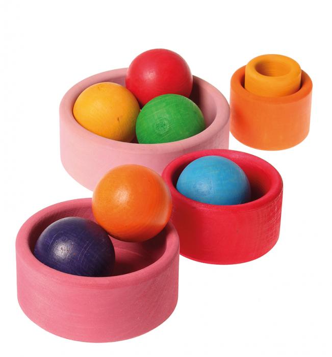 Set de boluri lollipop - jucarie SPIEL GUT 2