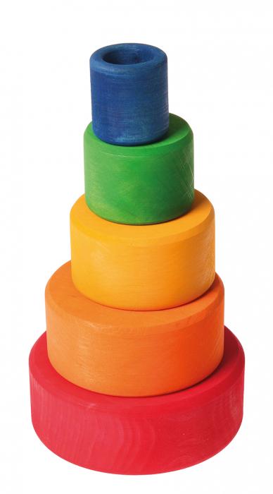 Set de boluri multicolor - SPIEL GUT 1