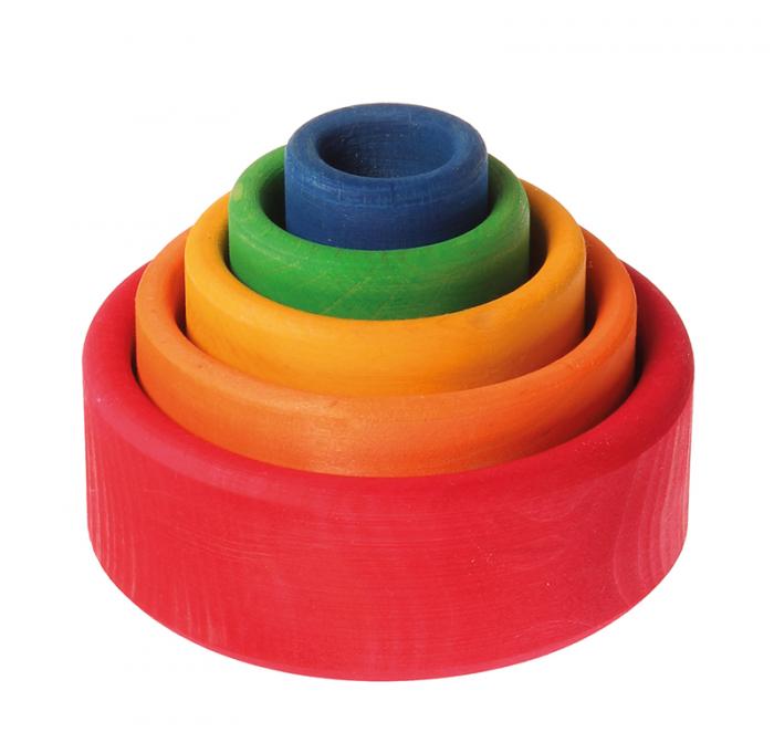 Set de boluri multicolor - SPIEL GUT 0
