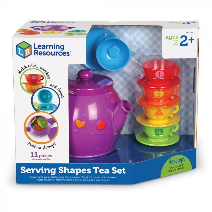 Set de ceai cu forme geometrice 3