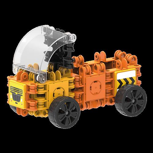 Set de construit Clicformers- Mini set cu vehicule de santier 4