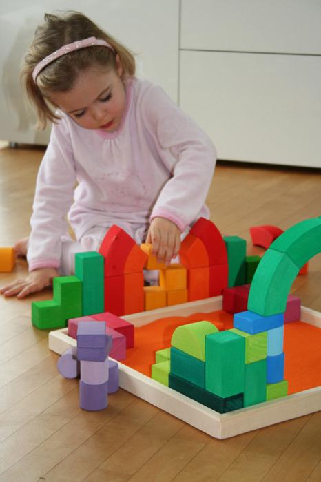 Set de construit Romanesque cu piese mari 2
