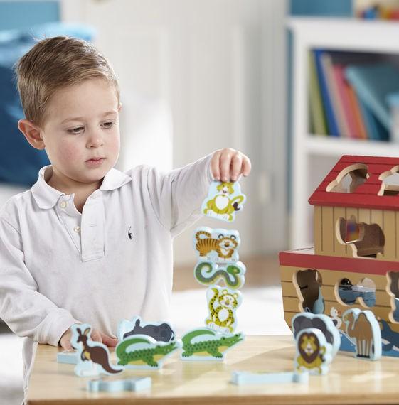Set de joaca din lemn Arca lui Noe [1]