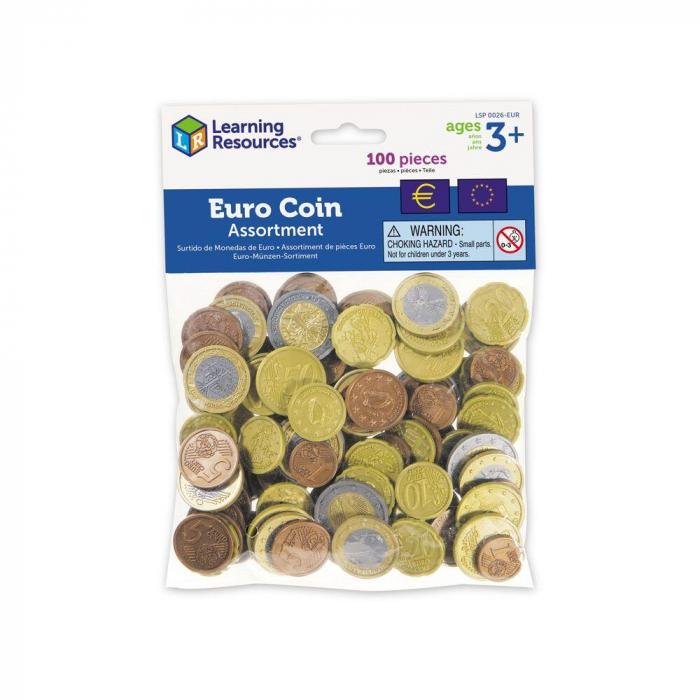 Pachet joc de rol: Bancnote si monede Euro 0